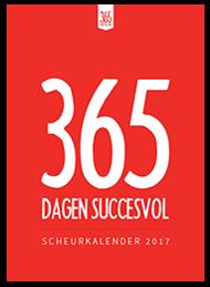 Cover zelf uitgegeven scheurkalender 365 DS