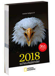 Cover scheurkalender 2018 National Geographic