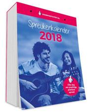 Cover van scheurkalender 2018 van Voor Positiviteit