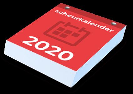 Scheurkalender op maat drukken door drukker Scheurkalenders.com
