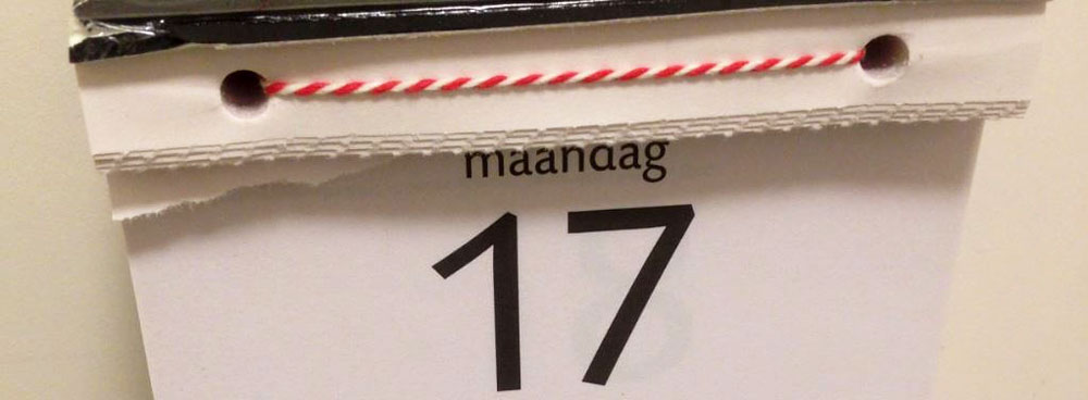 Scheurkalender maken